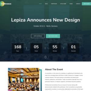 the conference wordpress theme besplatnaya